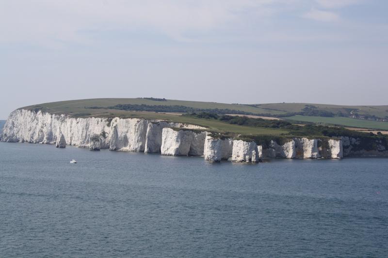 falaises du Dorset (Angleterre)